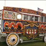 A circus calliope